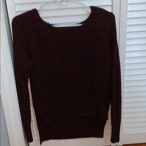 Maroon rue 21 sweater
